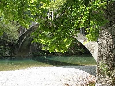 Konitsa Bridge On Way To Papigo