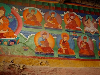 Korzok Gompa Wall Paintings - J&K Ladakh