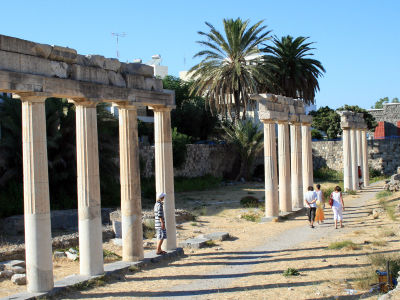 Ruins Of The Ancient Gymnasium