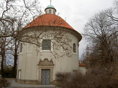 Church Of Saint Roch From Olšanska Square