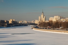 Kotelnicheskaya Building By Moskva River