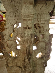 Kote Venkataramana Temple Mandapam Pillar