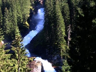Part Of The Krimmler Wasserfälle