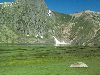 Krishansar Lake At Sonamarg
