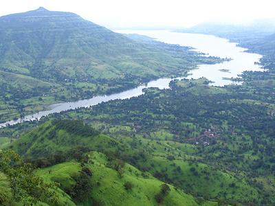 Krishna River - Mahabaleshwar - India
