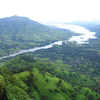 Krishna River Valley At Mahabaleshwar