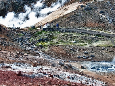 Krysuvik Mineral Geology & Fumaroles