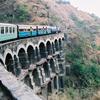 KSR Train On A Big Bridge