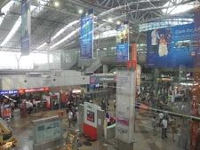 Kuala Lumpur Sentral Railway Station Interior