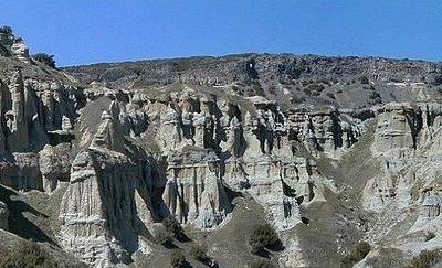 Kula Yanıkyore Rock Formations
