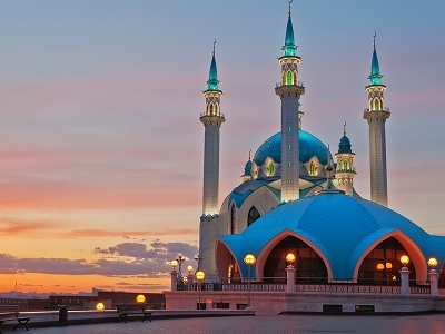 Kul Sharif Mosque In Kazan Kremlin