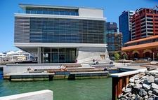 Kumutoto Plaza & Meridian Energy Building In Wellington NZ