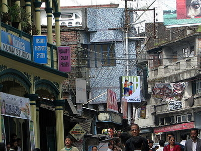 A Busy Road In Kurseong