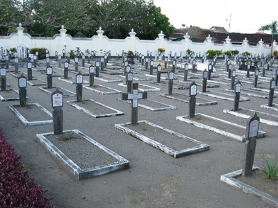 Graves In The Cemetery