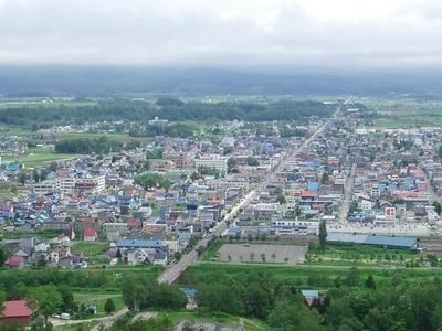Kutchan Town From  Asahigaoka