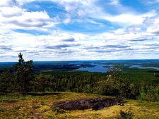Kuusamo Landscape Overview - Finland