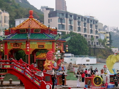 Longevity Bridge Of Kwun Yam Shrine