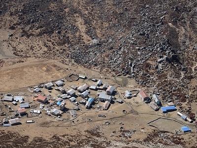 Kyanjin Gompa Landscape - Langtang Nepal