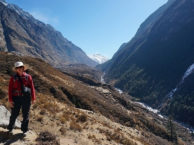 Kyanjin Gompa Valley View - Nepal Langtang