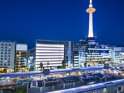 Kyoto Tower And City View