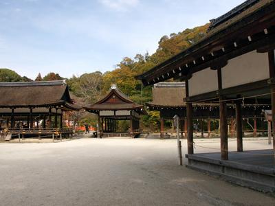 View Of Kamigamo Jinja