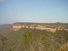 Kanangra Walls Seen From Echo Head