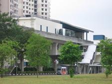 Exterior View Of SE4 Kangkar LRT Station