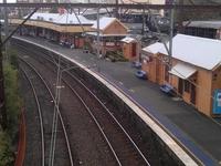 La estación de tren de Katoomba