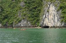 Kayaking Cat Ba National Park