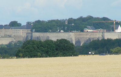 View Of The Fortress From The B 172 Road