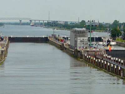 Kiel Canal North Sea Locks