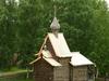Wooden Chapel On Monastery Ground