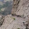 Kit Carson Avenue With A Climber Descending