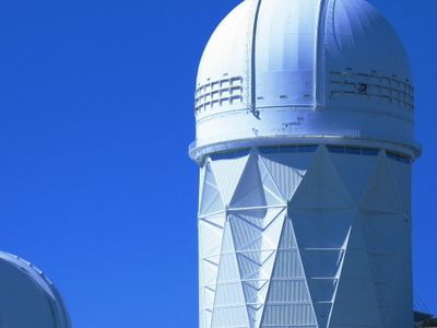 Two Of Kitt Peaks Telescopes