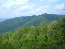 Knob Mountain From Skyline Drive