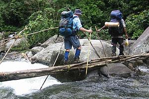 Crossing Eora Creek