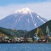 Koryaksky Volcano Above Petropavlovsk Kamchatsky