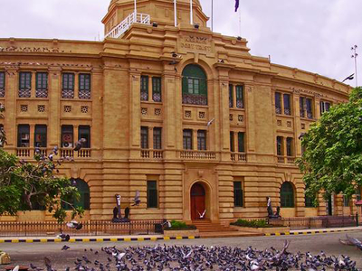 Administrative Building Of Karachi Port Trust
