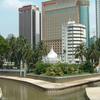 Klang River And Gombak River At Kuala Lumpur