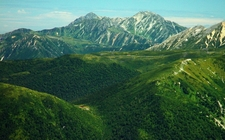 Kurobegorō Hut And Hida Mountains