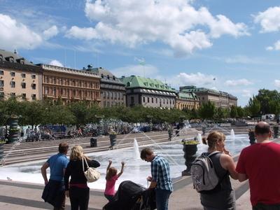 Kungsträdgården In The Middle Of Summer