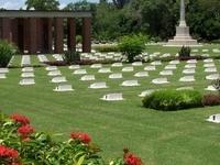 Labuan cementerio de la guerra