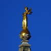 Lady Justice Statue On The Top Of The Court Building