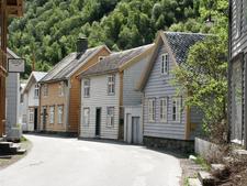 Some Old Houses In Sogn Og Fjordane
