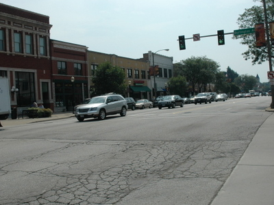La  Grange Illinois Downtown