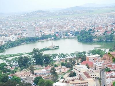 Lake Anosy Overview - Antananarivo
