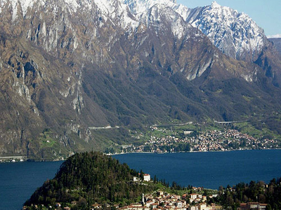 Panoramic View Of Lake Como