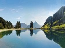 Lake Filzalmsee Brixen Im Thale Austria