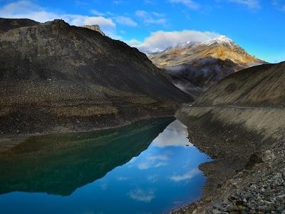 Lake In Baralacha Pass HP Himalayas