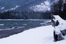 Lake McDonald West Shore Trail At Glacier - Montana - USA